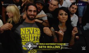 Seth Rollins, Zahra Schreiber, NXT Takeover: Brooklyn