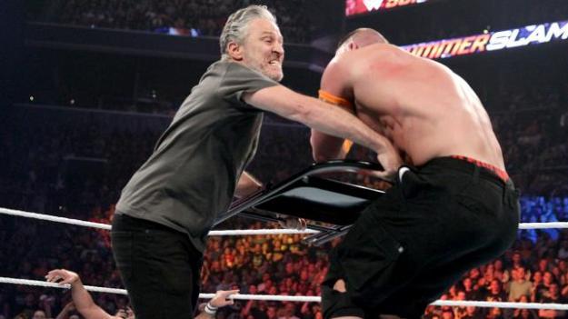 John Cena, Jon Stewart, WWE Summerslam 2015
