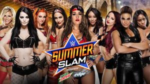 WWE Summerslam 2015 Divas elimination match