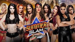 WWE Summerslam 2015 Divas elimination match