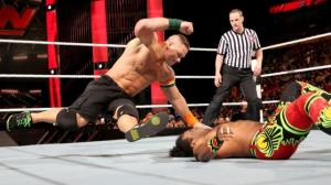 John Cena, Xavier Woods, Raw, September 28, 2015