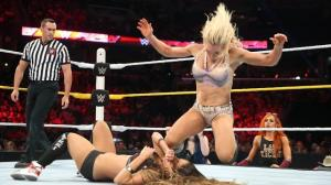 Charlotte vs. Nikki Bella, Raw, September 12, 2015