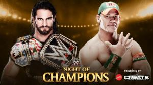 WWE Night of Champions 2015, Seth Rollins, John Cena