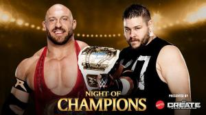 Ryback, Kevin Owens, WWE Night of Champions 2015