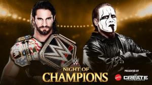 WWE Night of Champions 2015, Seth Rollins, Sting