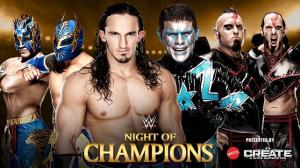 WWE Night of Champions 2015, Six-Man