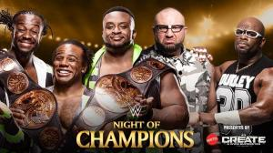 The New Day, The Dudley Boyz, WWE Night of Champions 2015