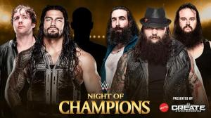The Wyatt Family, Roman Reigns, Dean Ambrose, WWE Night of Champions 2015