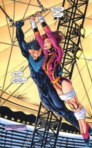 Birds of Prey #8, 1999, Greg Land, Nightwing, Oracle