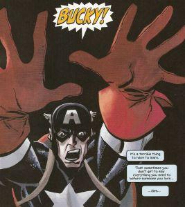 Captain America: White #1, Bucky!