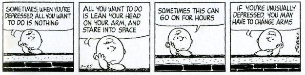 Peanuts, depression