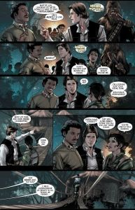 Star Wars: Scattered Empire #1, Lando