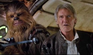 Star Wars: The Force Awakens, Han Solo, Chewbacca