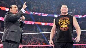 Paul Heyman, Brock Lesnar, September 5, 2015