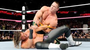 WWE Raw, October 12, 2015, John Cena, Dolph Ziggler