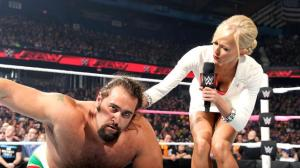 WWE Raw, October 12, 2015, Rusev, Summer Rae