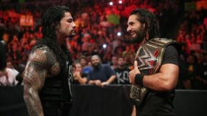 WWE Raw, October 26, 2015, Seth Rollins, Roman Reigns