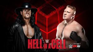 WWE Hell in a Cell 2015, The Undertaker, Brock Lesnar