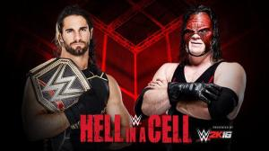 WWE Hell in a Cell 2015, Seth Rollins, Kane