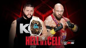 WWE Hell in a Cell 2015, Kevin Owens, Ryback