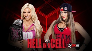 WWE Hell in a Cell 2015, Charlotte, Nikki Bella