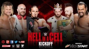 WWE Hell in a Cell 2015, Kick off show