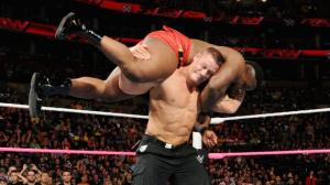 John Cena, Big E., Raw, September 5, 2015