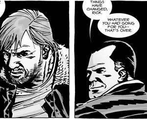 The Walking Dead #100, Negan, Rick Grimes, Charlie Adlard