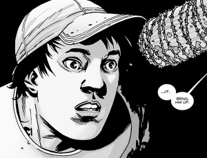 The Walking Dead #100, Glenn, Charlie Adlard