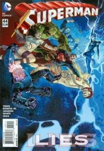 Superman #44 cover, John Romita Jr.