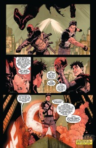 Batman & Robin Eternal #1, Tony Daniel