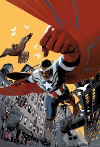 Sam Wilson Captain America #1, 2015