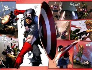 Captain America #1 (2011), Steve McNiven