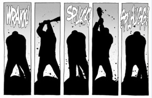Negan, The Walking Dead #100, Charlie Adlard