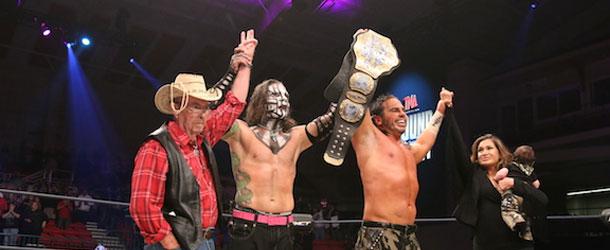 Matt Hardy TNA Bound For Glory 2015 Wins World Championship