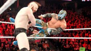 Sin Cara, Sheamus, Raw, October 2, 2015