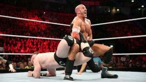 WWE Raw, November 9, 2015, Cesaro, Sheamus