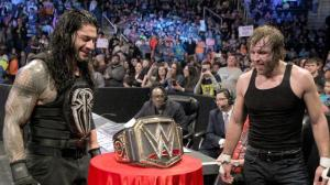 WWE Smackdown, November 19, 2015, Roman Reigns, Dean Ambrose