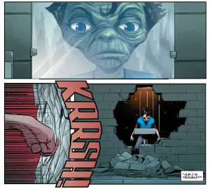 Superman: American Alien #1, alien mirror, Nick Dragotta