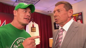 John Cena, Vince McMahon