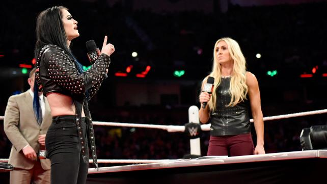 Paige, Charlotte, Raw, November 16, 2015