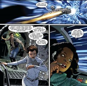 Han Solo, Sana Solo, Stuart Immonen