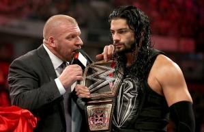 Triple H, Roman Reigns, WWE Championship