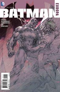 Batman: Europa #1 cover, Jim Lee