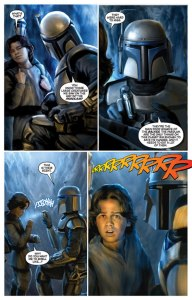 Star Wars: Blood Ties #1, Chris Scalf