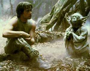 Yoda, Luke SKywalker, The Empire Strikes Back