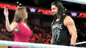 WWE Raw, December 14, 2015, Stephanie McMahon, Roman Reigns