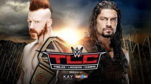 WWE TLC 2015, Roman Reigns, Sheamus