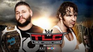 Kevin Owens, Dean Ambrose, WWE TLC 2015