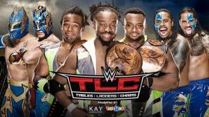 The New Day, The Usos, The Lucha Dragons, WWE TLC 2015